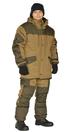 """Костюм зимний """"ГОРКА"""" куртка/брюки, цвет: св.хаки/т.хаки, ткань: Полибрезент/Полибрезент"""