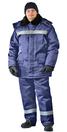 """Костюм зимний """"СТРОИТЕЛЬ-оксфорд"""" куртка/брюки, цвет: т.синий"""